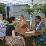Simulation d'entretien à la Garden Party Solidaire Clé de Fa