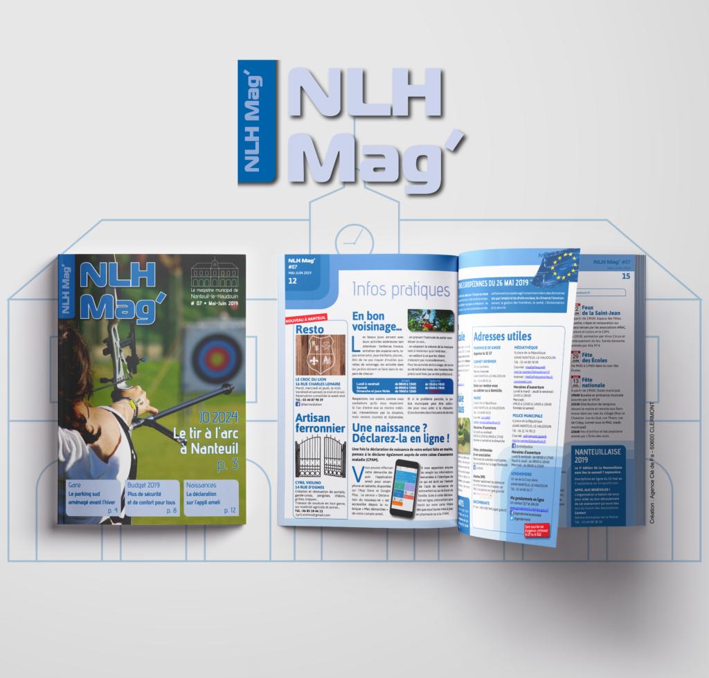 ##Nanteuil Magazine Mockup