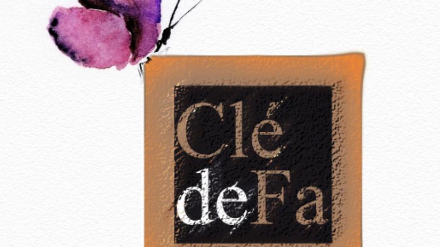 Cle de Fa - papillon