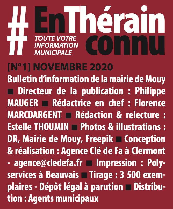 Clé de Fa - Ours bulletin MOUY 2021