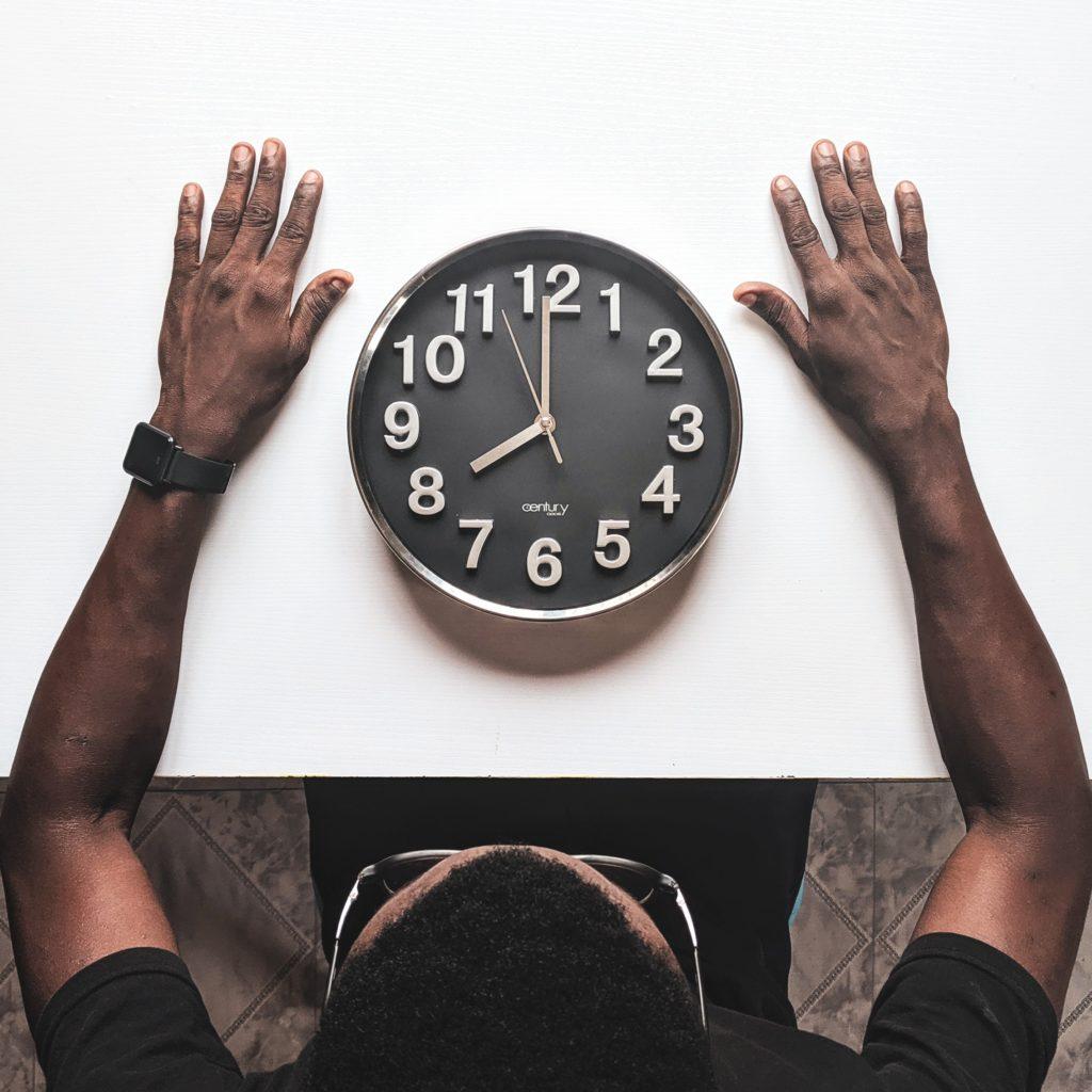 Clé de Fa - Technique de l'horloge